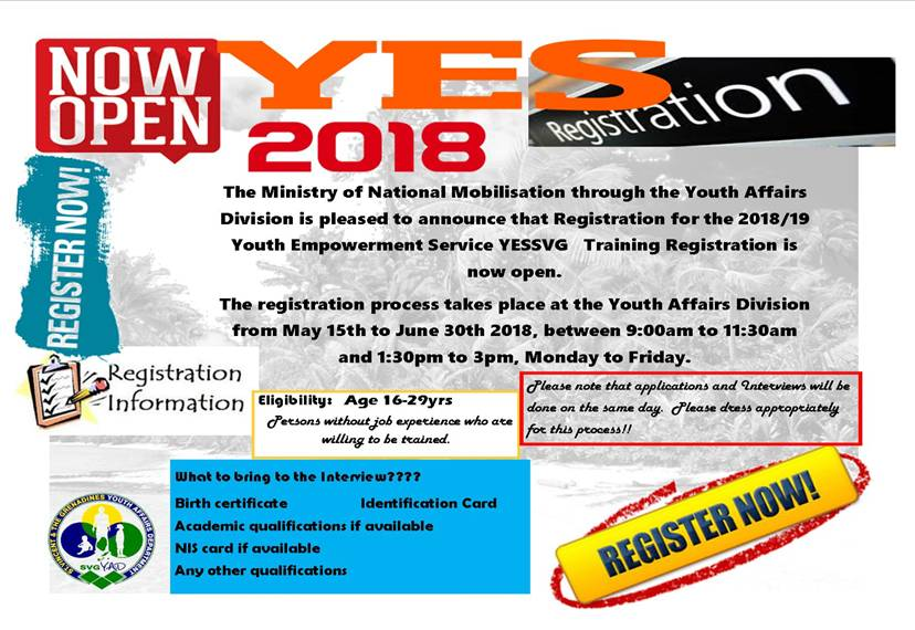 YES Program Registration Opening Date And Sports Anticrime Campaign